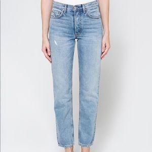 GRLFRND Helena High-Rise Straight Jean Size 31